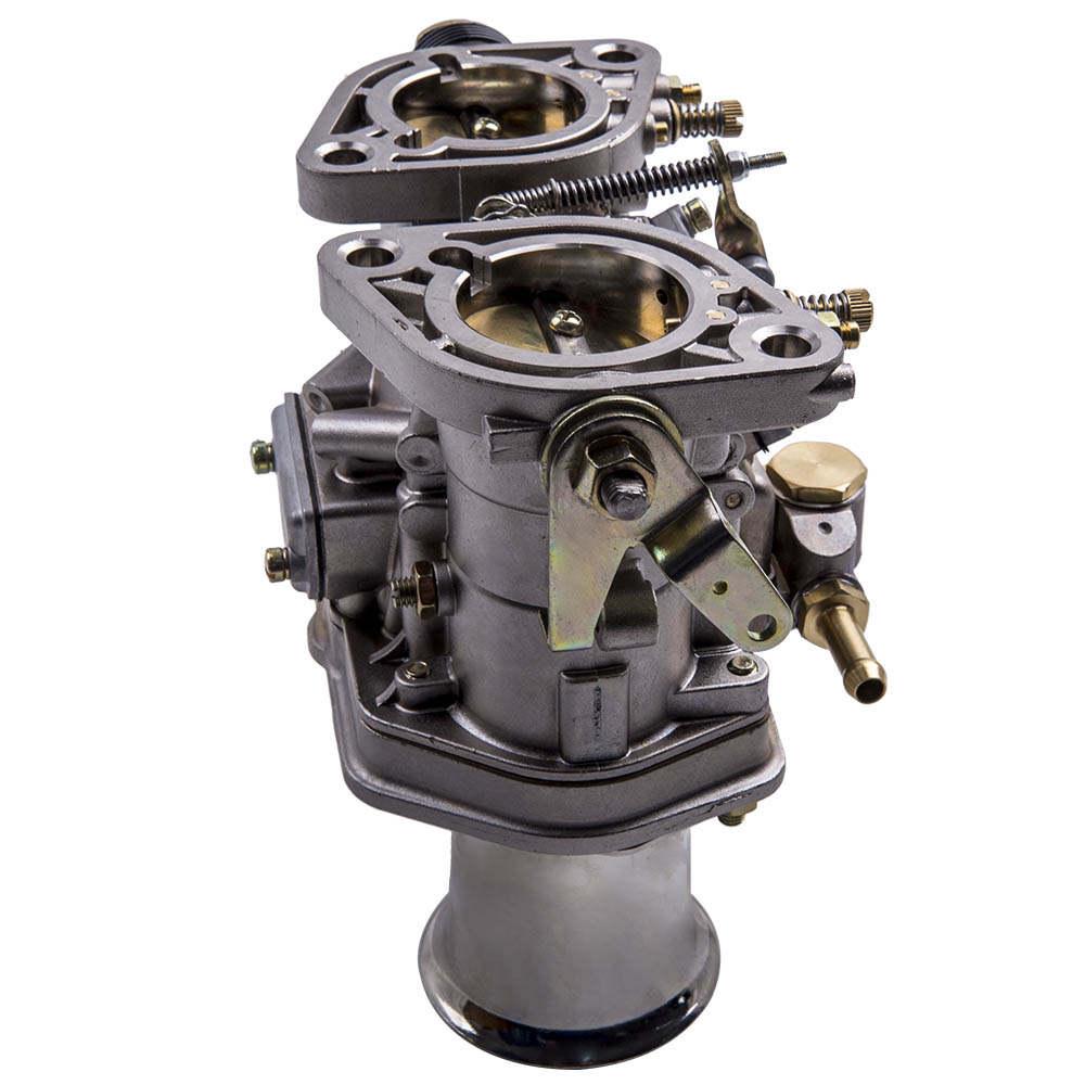2X Carburador 40IDF CARBURATORE Con Bocina De Aire compatible para VW Beetle compatible para Fiat Porsche