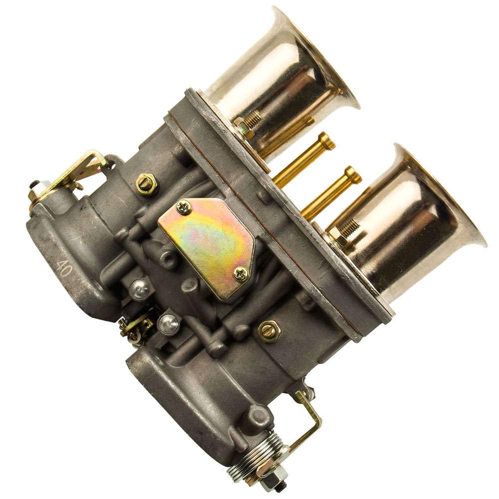 2 x Zinc Alloy Carburateur Carb 40IDF pour VW Volkswagen Bug Beetle Fiat Porsche