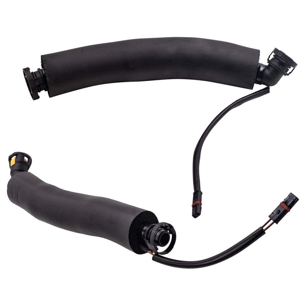 Kit de separador de aceite de mangueras de ventilación del cárter 4X para BMW 1 (E87) 2003-2013