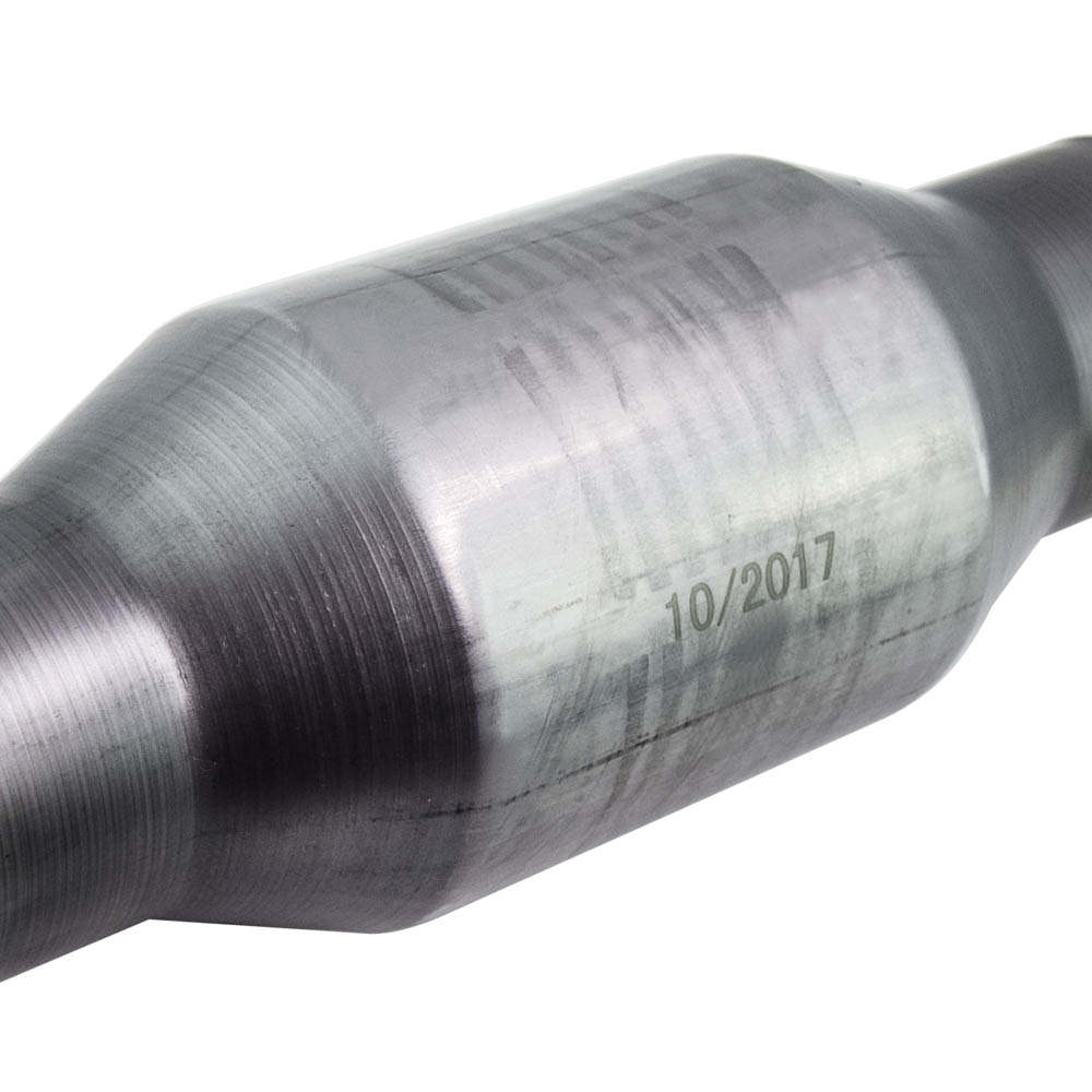 Catalizador Catalizador de Escape de Acero Inoxidable Universal de Alto Flujo 410250 de 2.5  pulgada