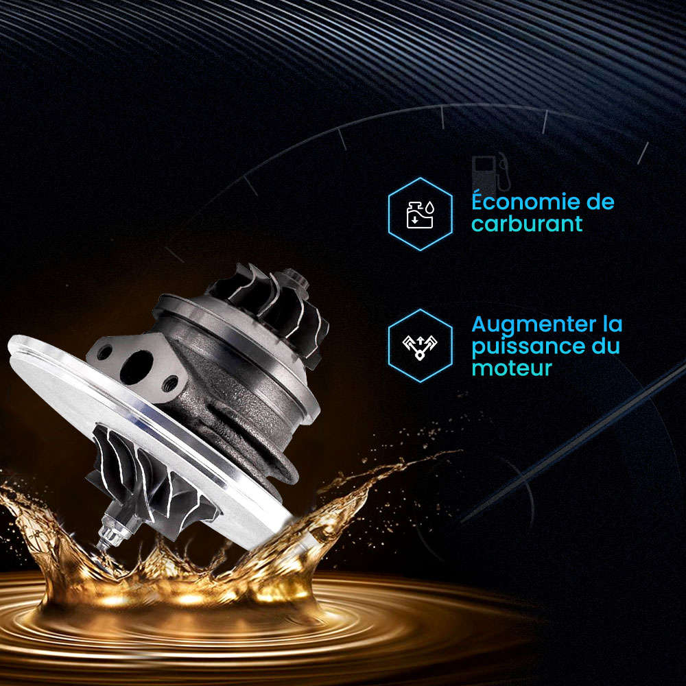Turbo CHRA Cartouche pour LAND ROVER Discovery II 2.5 TDI 102 Kw 139 CV TD5 NEUF