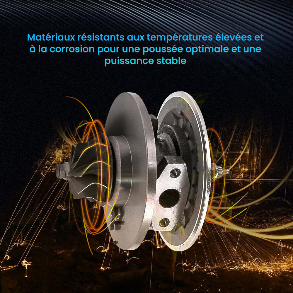 GT Turbo Cartridge Cartouche GT1749V 708639 CHRA Pour RENAULT 1.9 DCI F9Q Core