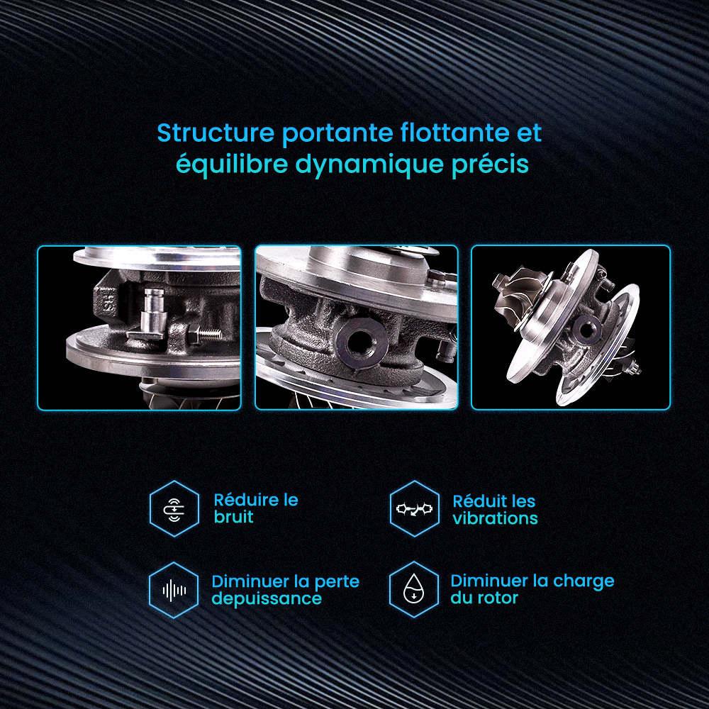 Turbo Cartridge Core Chra pour Skoda LCDP Audi VW 1.9 TDI 717858-5009S GT1749V