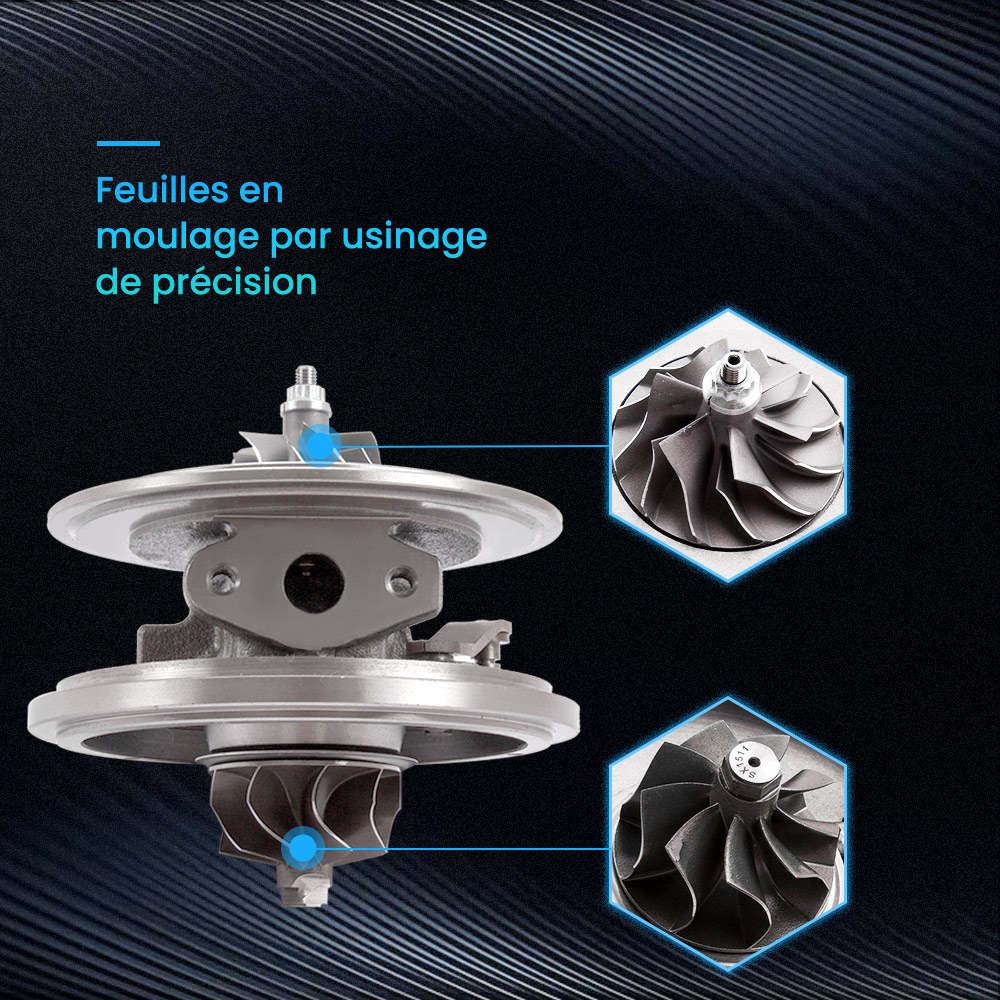 Pour Ford Transit 2.2 Tdci Gtb1749v Turbo Chra Cartouche Turbocompresseur 787556-5017