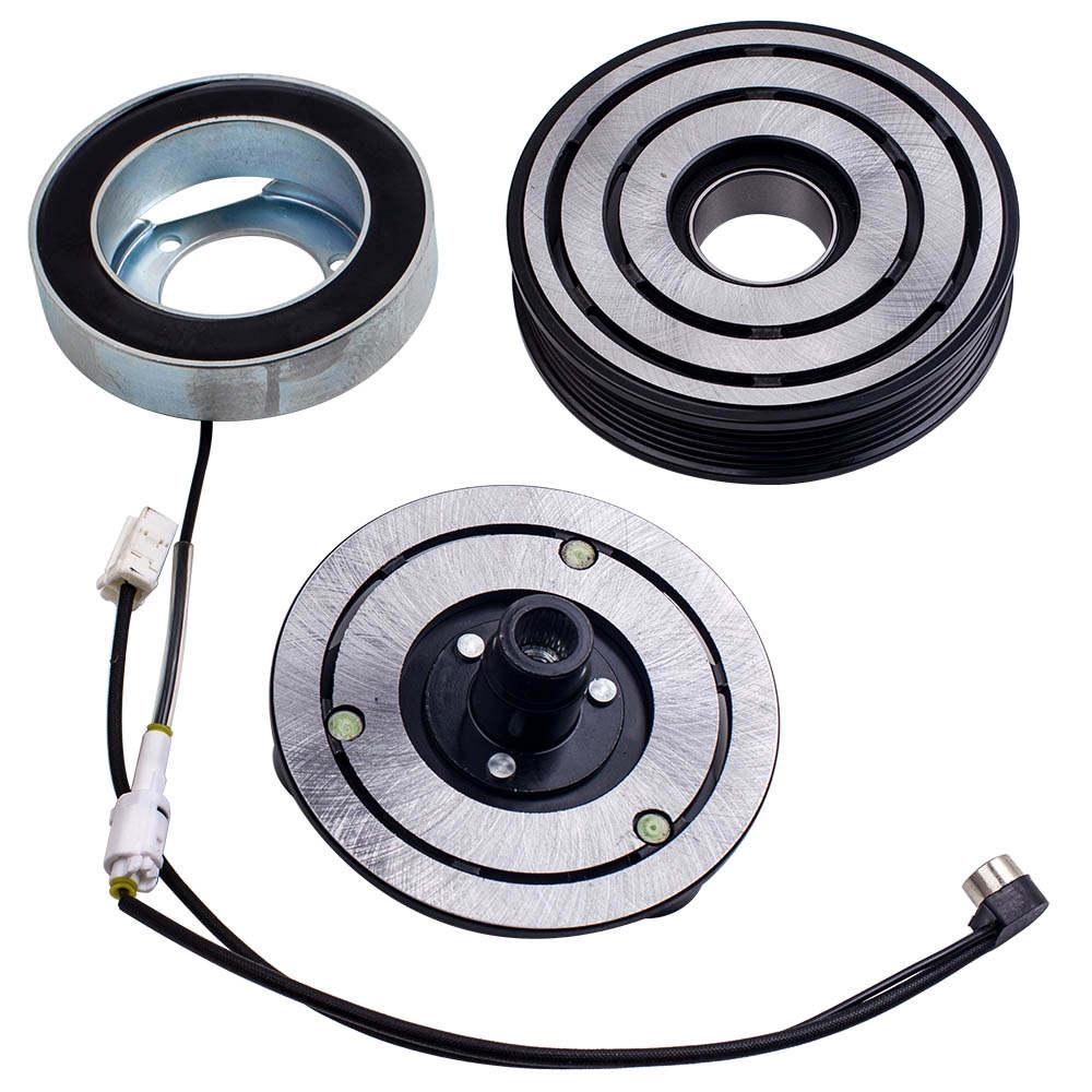 Compresor de aire acondicionado Embrague magnético compatible para Mazda 3 Mazda 5 1.8 2.0 2.3 BK