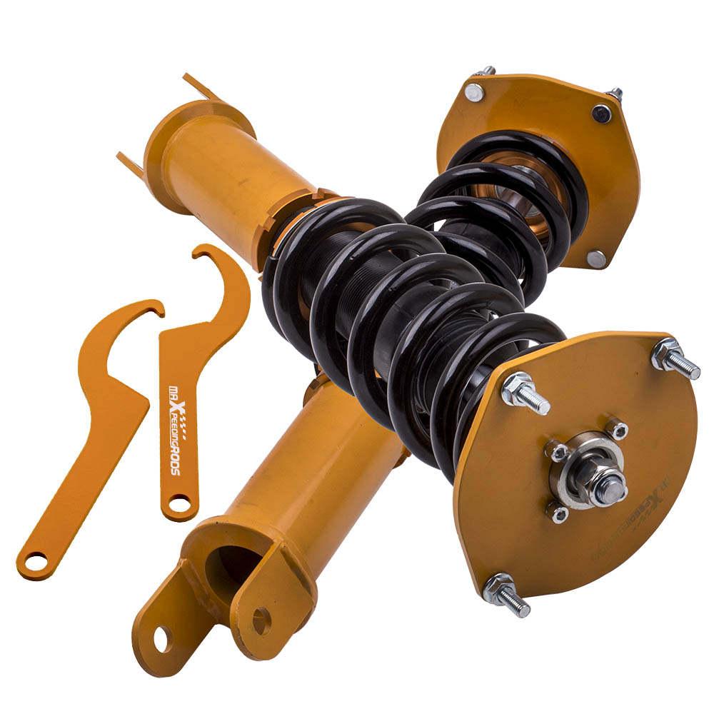 Front compatible para Lincoln Mark VIII 93-98 Struts Coil Spring Conversion Kit Amortiguador