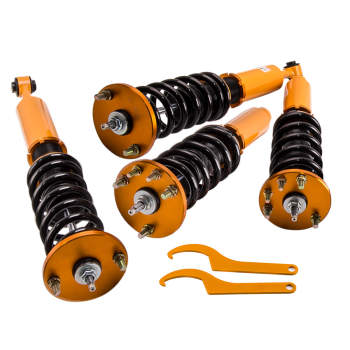 1998 - 2002 For Honda Accord 1999 - 2003 Acura TL 2001 - 2003 Acura CL Adjustable Damper Coilovers Kit