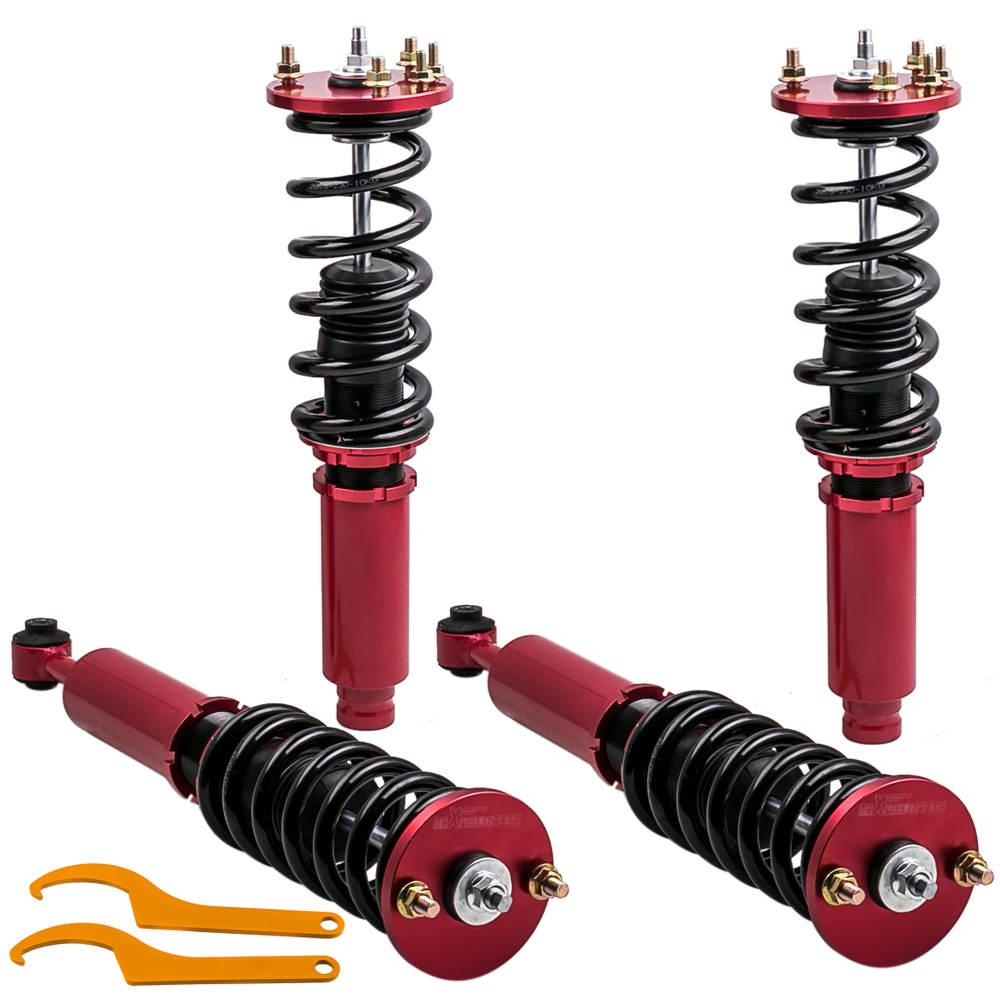 Amortiguadores delanteros y traseros Amortiguadores compatible para Honda Accord 99-03 compatible para Acura TL 98-03