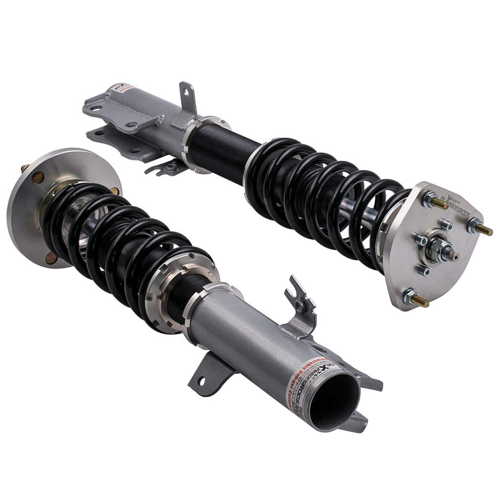 1992 - 2003 For Lexus Toyota Camry Coil Over Spring Adjustable Height Shock Absorbers Struts Grey
