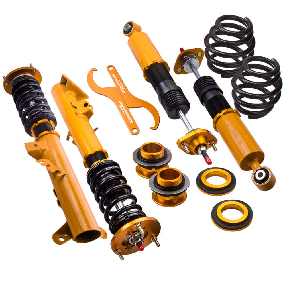 For BMW E36 3 Series 24 Ways Adj. Damper Coilover Shock Absorber Coil Struts