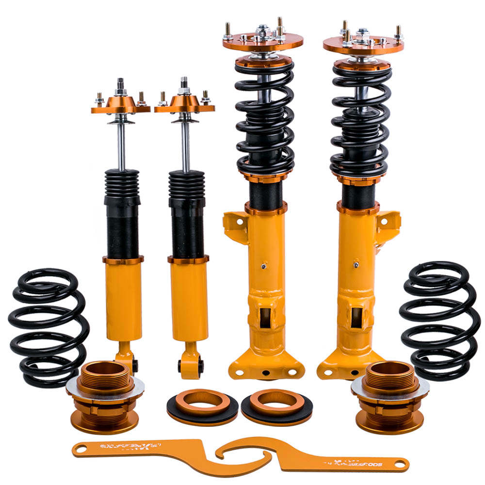 For BMW 3 Series E36 318 323 325 Sedan Coupe Shock Absorbers Coilovers Suspension Kit