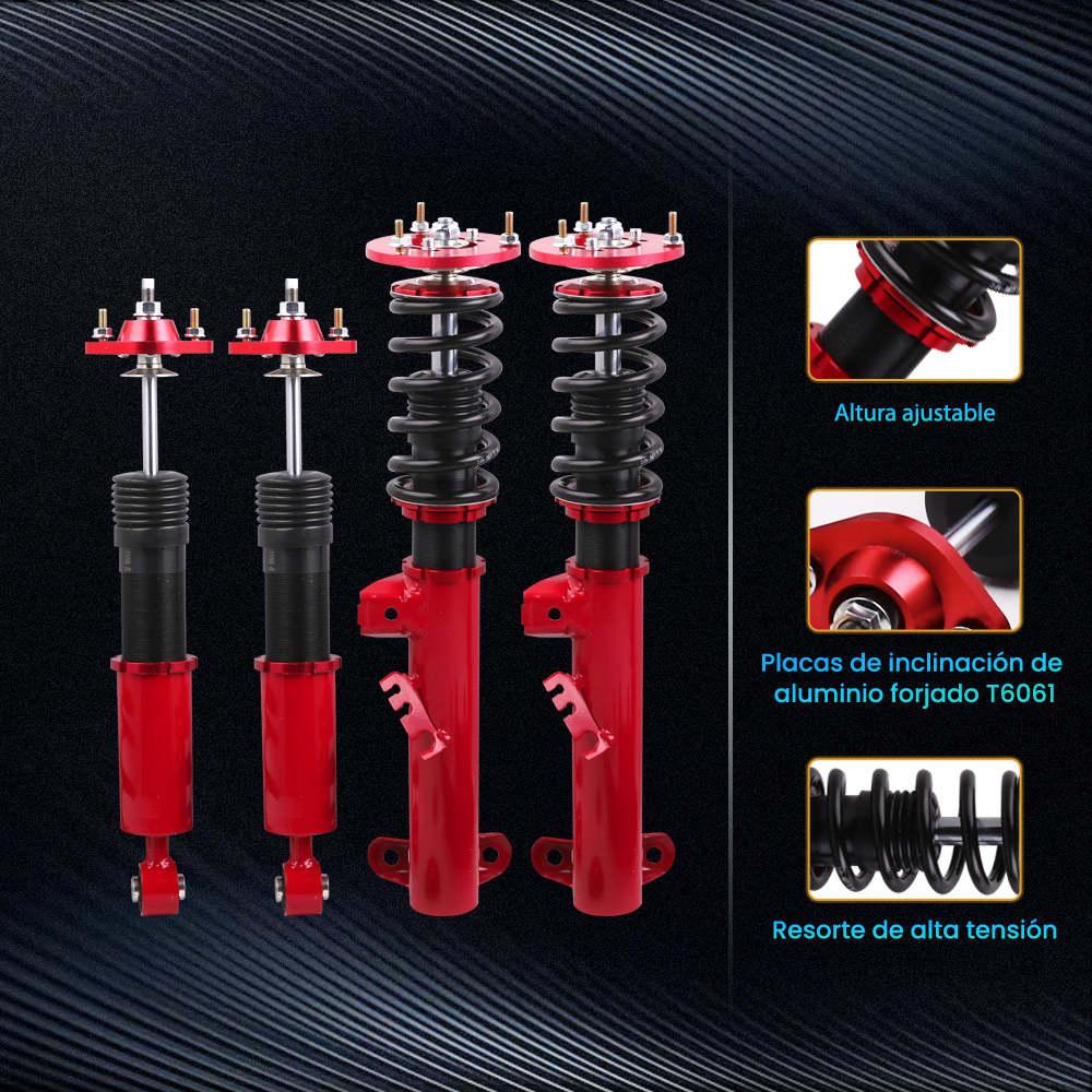 Maxpeedingrods Suspensión de coilovers ajustables en altura compatible para BMW Serie 3 E36 M3 1991-1998