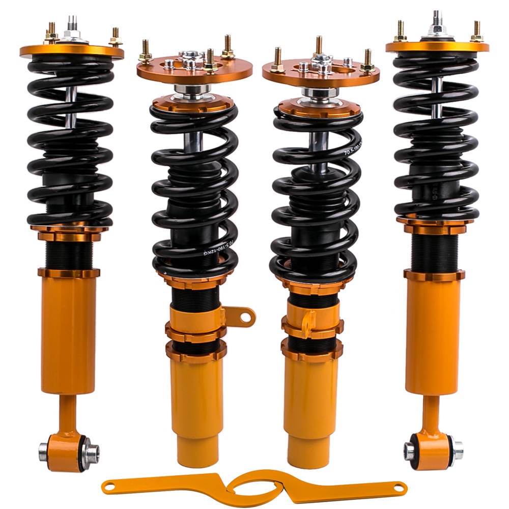 1996 - 2003 For BMW 5 Series E39 Shocks Struts Adjustable Height Coilovers Suspension Kit