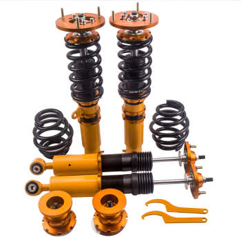For BMW E46 1998-2006 328 325 330 Dampers Springs Lowering Coilovers Suspension Kit