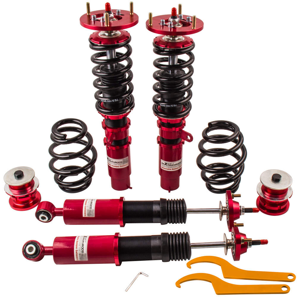 For BMW E46 3 Series M Sedan 4-Door 24 Ways Shock Absorber Damper Coilovers Kits