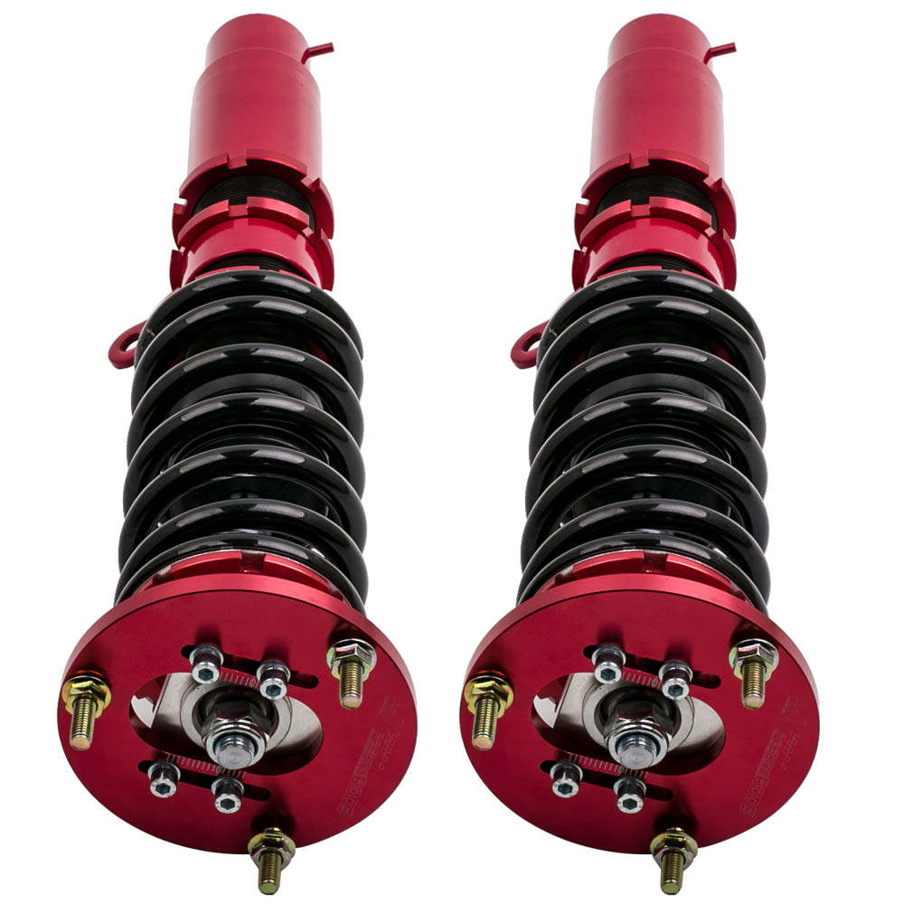 Complete Front + Rear Coilovers for BMW E46 3 Series Adj. Height + Sway Bar