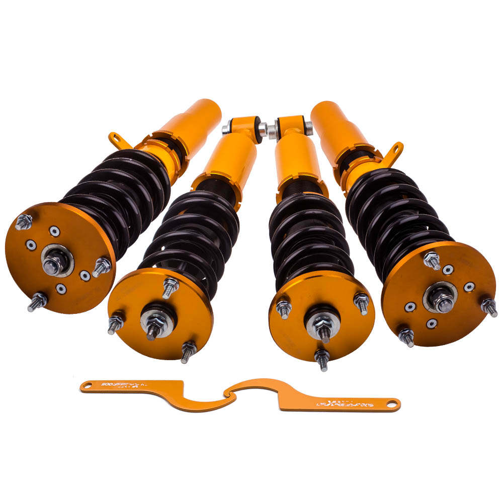 Coilover for 03-10 BMW 5 Series AWD XI E60 Adjustable Height Shocks Struts Coilovers