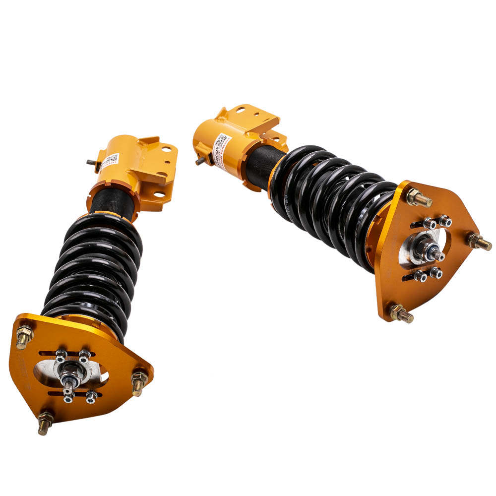 For High Performance Mitsubishi Lancer EVO 7 8 9 4G63 24 Ways Adjustable Coilover / Shock Absorber Suspension Kits