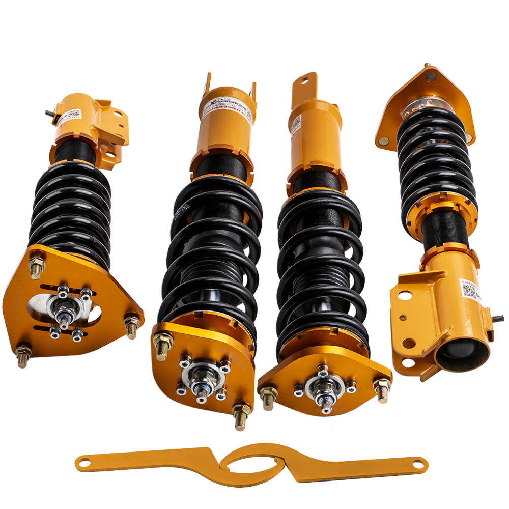 For Mitsubishi Lancer EVO 7 8 9 Adjustable Damper Racing Coilover Strut Shock Suspension Kit