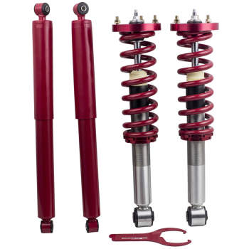 Front Struts  Rear OEM Repacement Shocks for Ford F-150 04-08 Mark LT 06-08 RWD