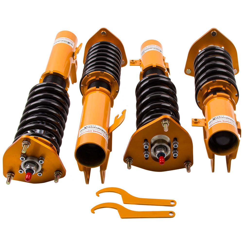 For High Performance 93-01 Subaru Impreza WRX GC8 24 Ways Adjustable Coilover / Shock Absorber Suspension Kit