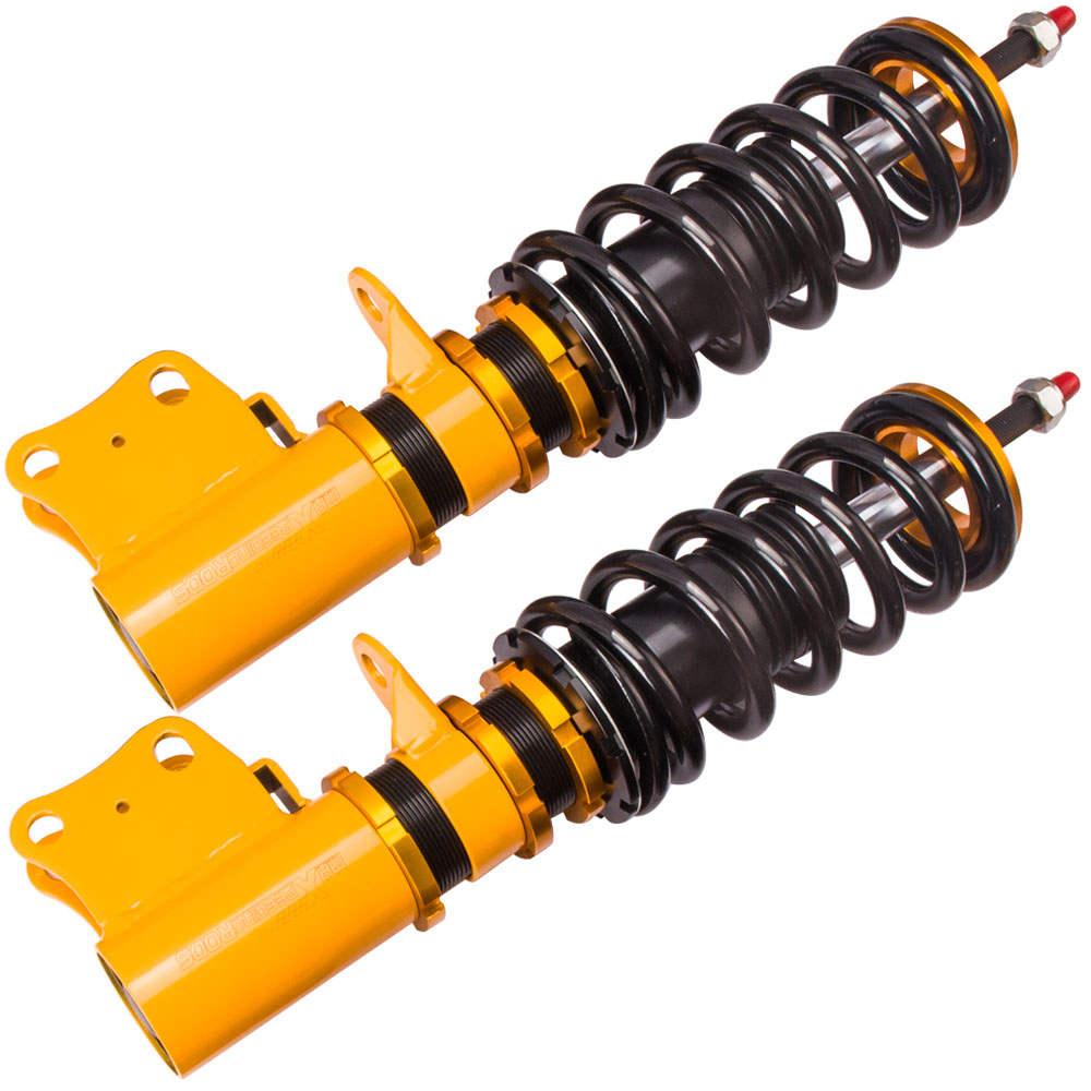 For Holden Commodore VY VX VZ VT Front Shock Damper Adjustable Coilovers Suspension Kit