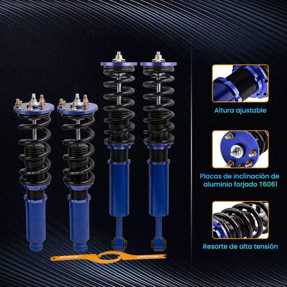 Maxpeedingrods Amortiguadores Coilover Kit de suspensión compatible para Honda Accord 2003-2007 compatible para Acura TSX 2004-2008