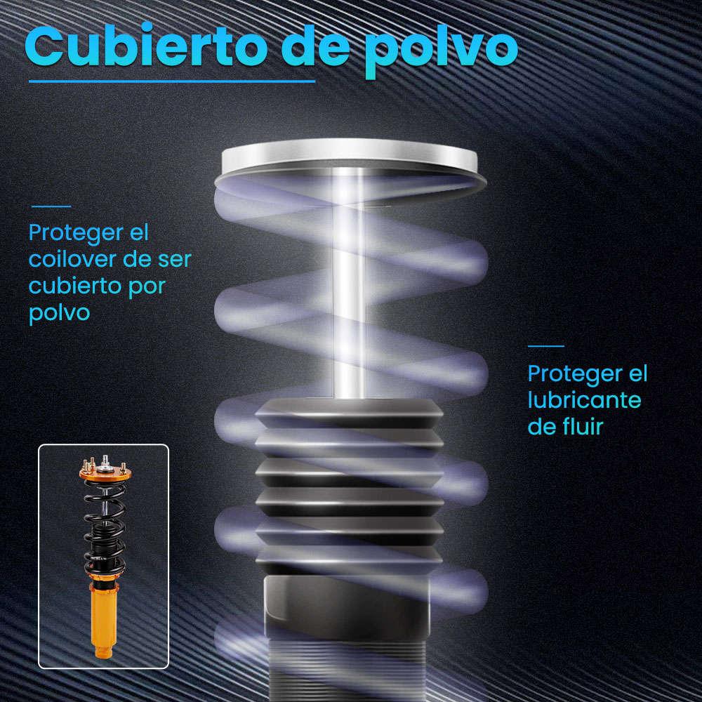 Maxpeedingrods Kits de descenso de suspensión de coilover completo compatible para Honda Accord 2003-2007 compatible para Acura TSX 2004-2008