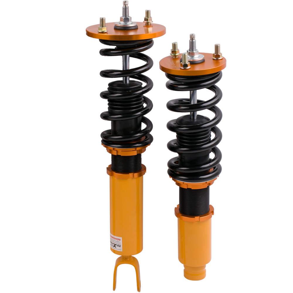 Amortiguador Coilovers Altura del amortiguador ajustable de 24 vías compatible para Honda Acura CL 1997-1999