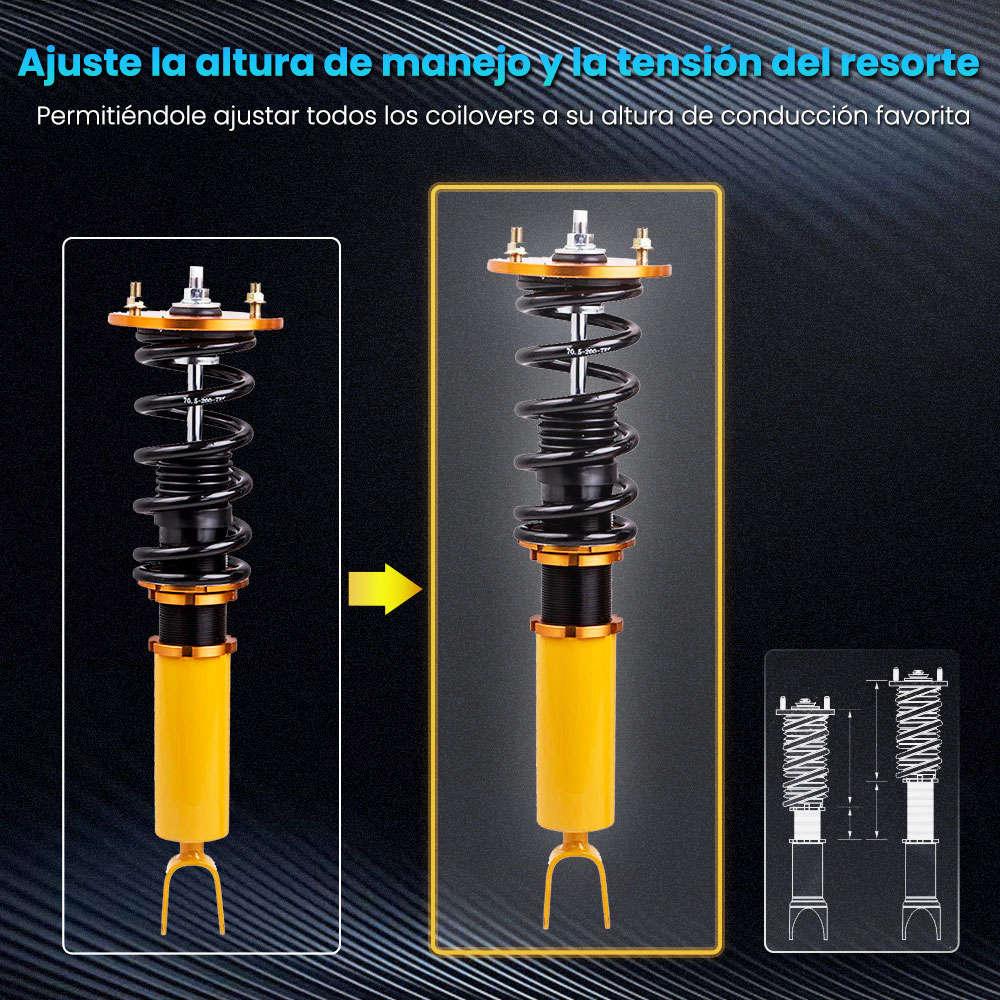 Suspensión de muelles helicoidales Suspensión compatible para Honda Accord 90-97 Amortiguador
