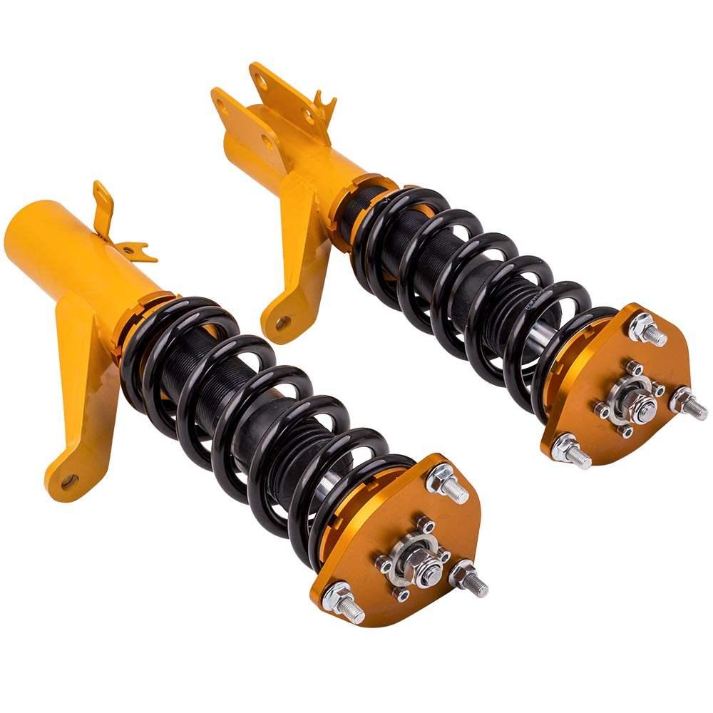 4pcs Amortiguador Ajustable Suspension SHOCK compatible para Honda EM SE TE Coilovers Kit