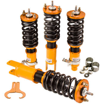 For Honda Civic 1996-2000 Pillow Mount Lower Springs Damper Adjustable Coilovers suspension kits
