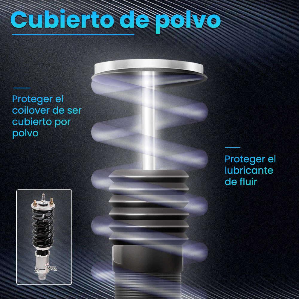 Maxpeedingrods Tuning Full Coilovers Kit suspensiones amortiguador ajustable compatible para Honda Civic 1988-2000