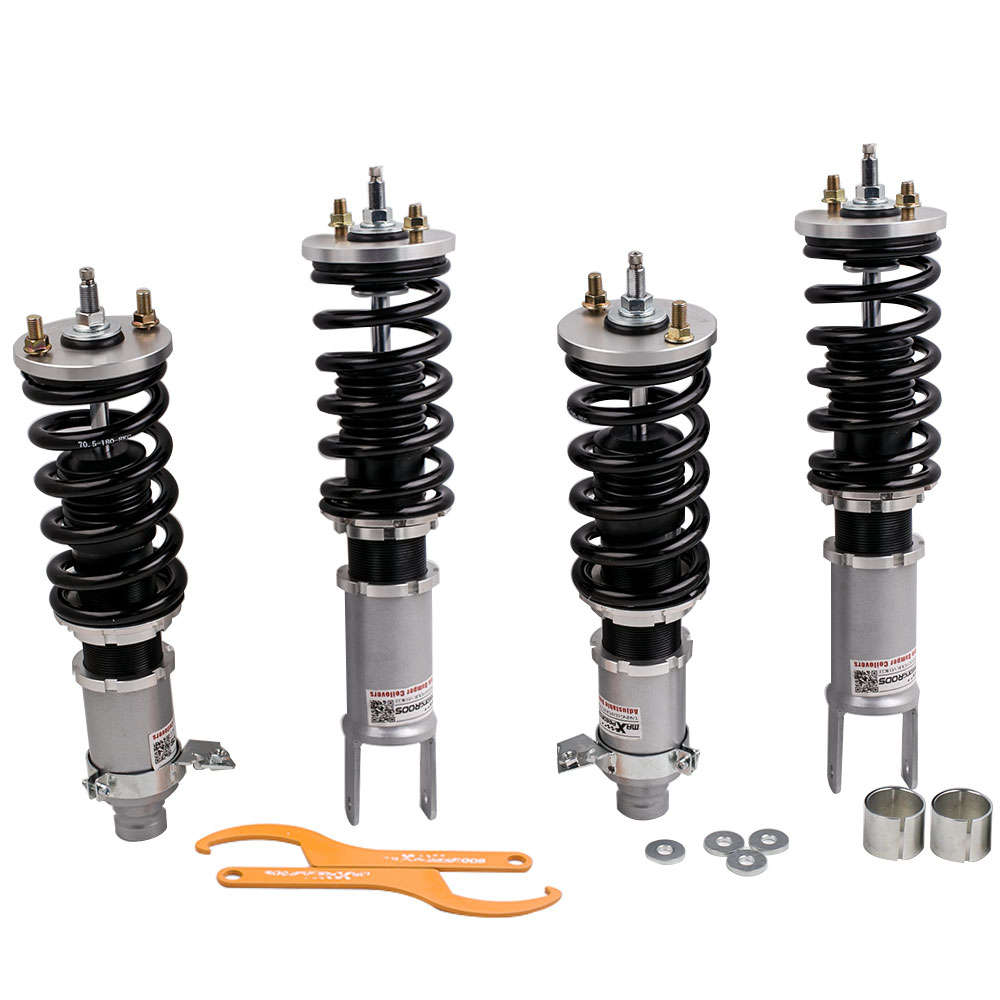 1988 - 1993 For Honda Civic Acura Integra 90-93 Adjustable Damper Coilovers Grey