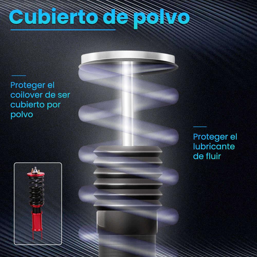 Maxpeedingrods Kits de suspensión Coilovers de puntal de bobina de altura ajustable compatible para Honda Civic 1988-2000
