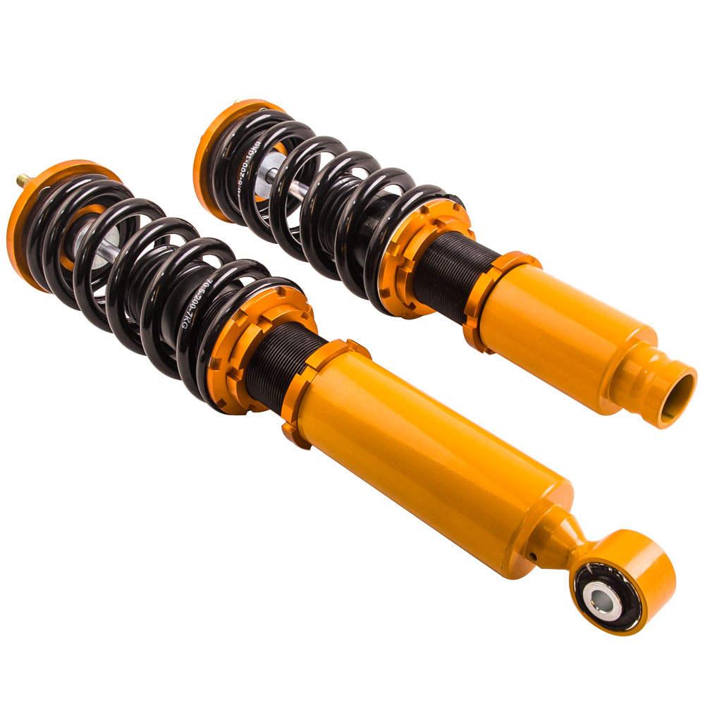 24 niveles de amortiguador ajustable Coilover compatible para Honda CRV 96 97 98 99 00 1996-2001