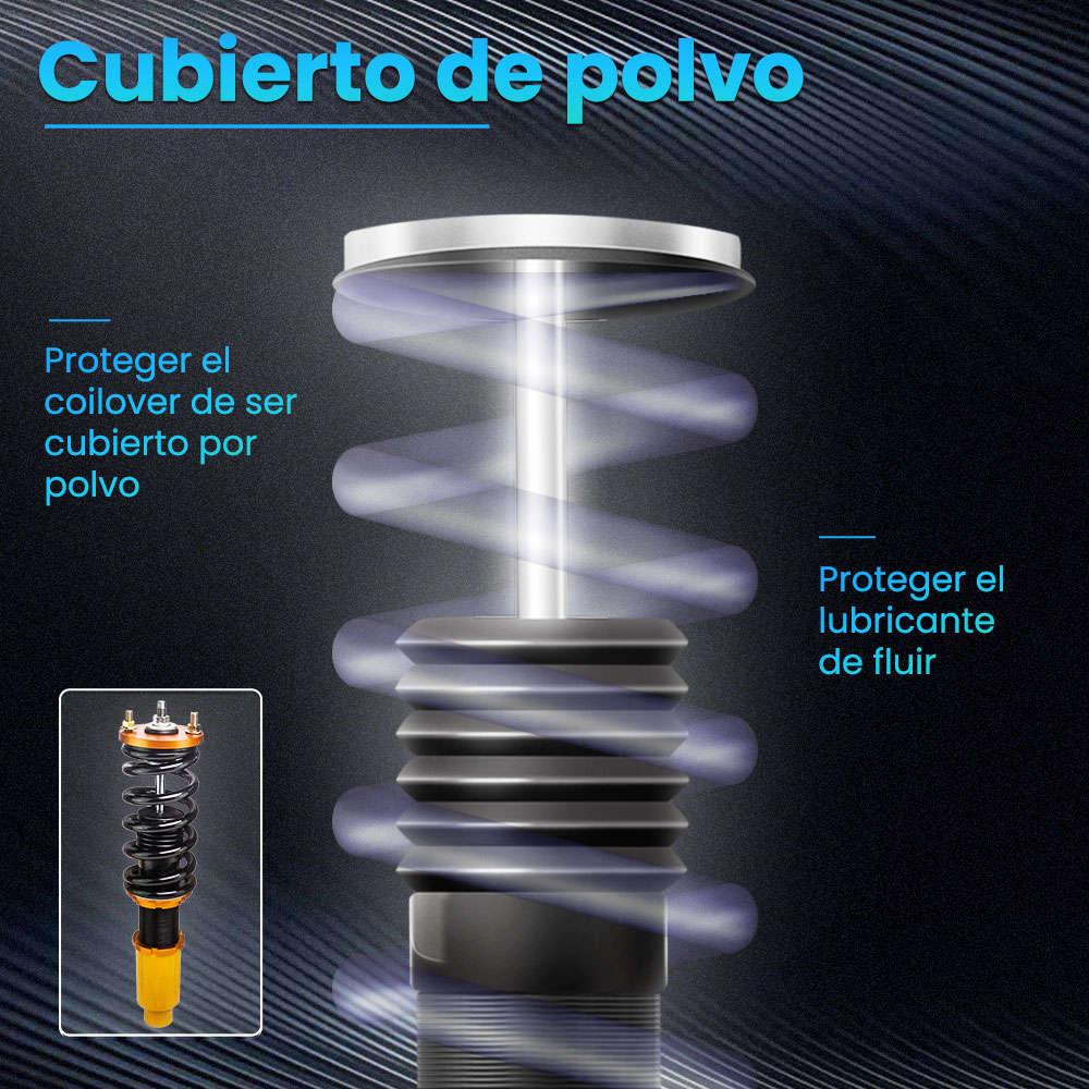 Suspensión Coilover ajustable en altura compatible para Honda CRV 96-01 CR-V Pillow Ball Mount