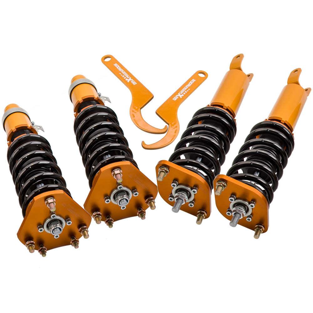 Amortiguadores compatible para Honda Prelude BB1 BB2 BB3 2.0i 2.3i 2.2i 1992 - 2002 Suspensión