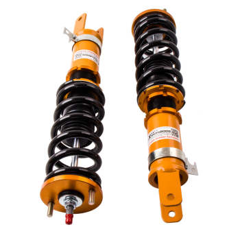 For Honda 2000 - 2009 S2000 Roadster 2.0/2.2L 24 Ways Adjustable Coilover / Shock Absorber Suspension Kit