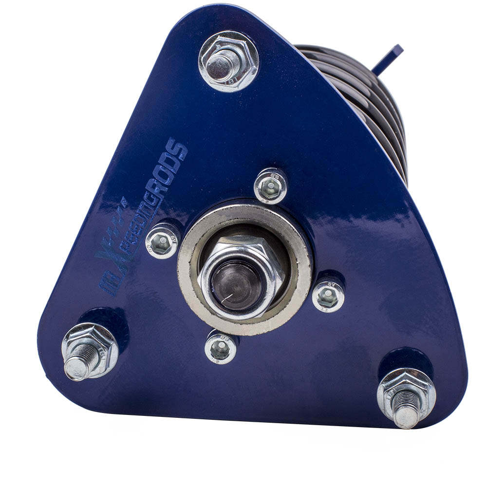Kit de amortiguadores de suspensión compatible para Mazda 3 04-09 Muelles helicoidales Amortiguadores Adj. Altura