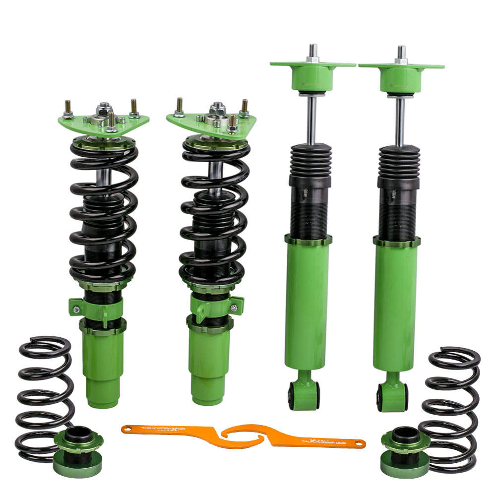 2010 - 2013 For Mazda 3 Shock Struts Coilover Kit Coilovers Green