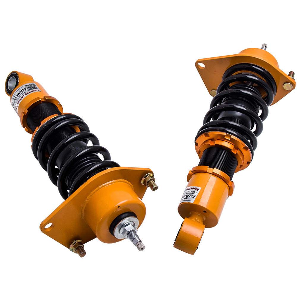 Coilovers Absorber Shock Ajustable Amortiguadores compatible para Mazda RX-8 RX8 2004-2011