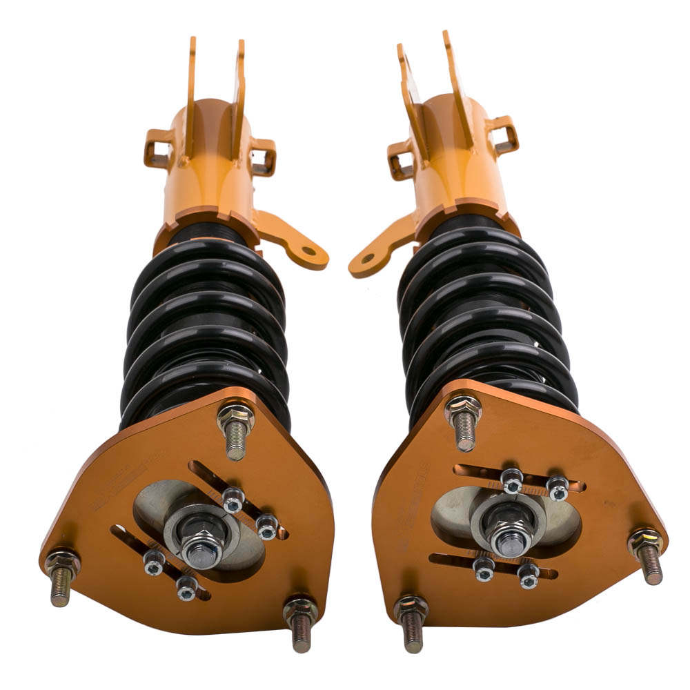 Kit completo de amortiguadores compatible para Mitsubishi Eclipse 00-05 Suspensión de muelles helicoidales