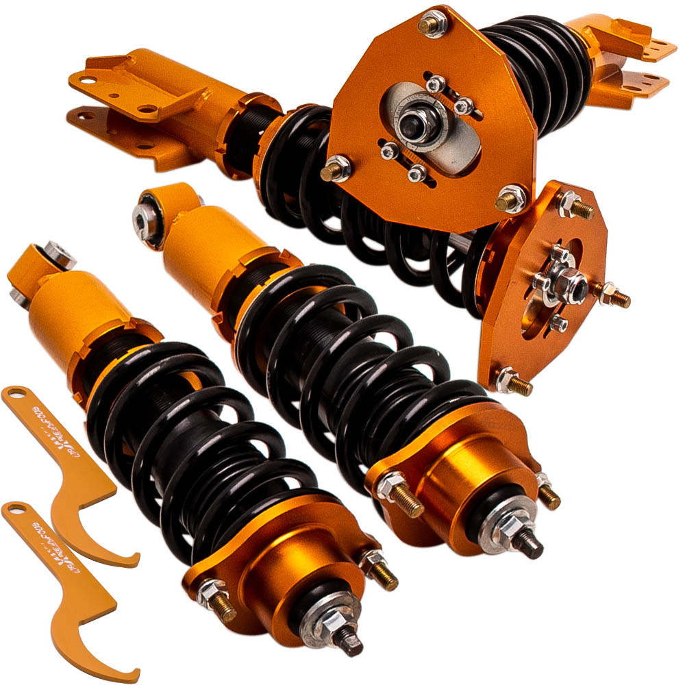 Height Adjustable Coilovers Kits for Mitsubishi Lancer 2002-2006 Golden