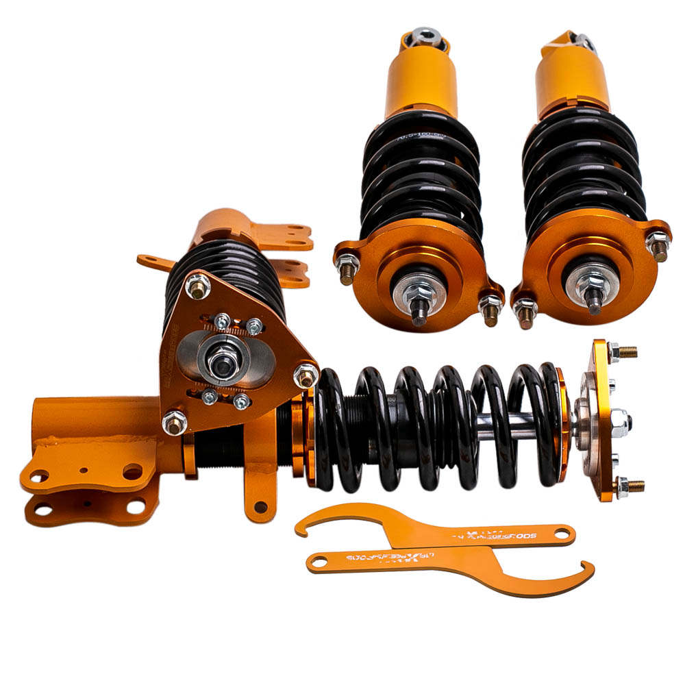 Complete Coilovers Coils Kit for Mitsubishi Lancer 2008-2016 Adjustable Height