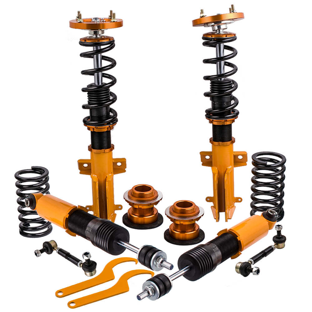 Coilovers Kits for Ford Mustang 2005-2014 Adjustable Height Mounts Struts