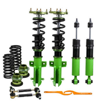 2005 - 2014 For Ford Mustang 4th Adjustable Mounts Suspension Kit Coilovers