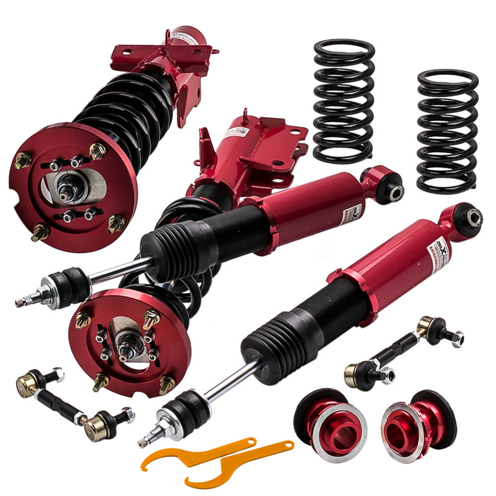 Coilovers Suspension Kits for 05-14 Ford Mustang 24 Ways Adjustable Damper AMI