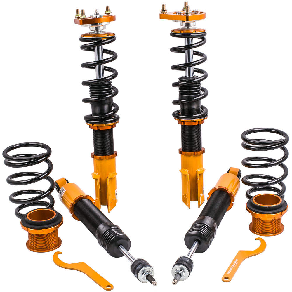 For Ford Mustang 1994-2004 4th Adjustable Height  Mounts Struts Coilovers Kits