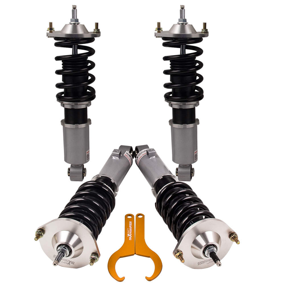 1990 - 2005 For Mazda Miata Adjustable Coilovers Suspension Grey